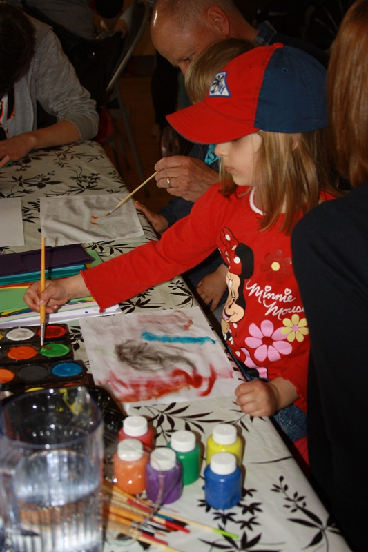 Marta maluje:) Zdjęcie: Iwona Żak